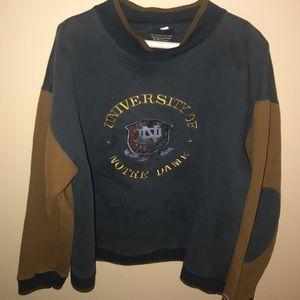 Vintage Notre Dame crewneck Sweatshirt